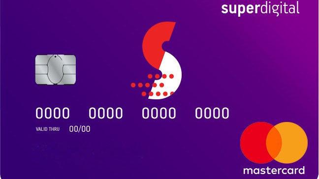 Cartão Superdigital do Grupo Santander (Imagem: Divulgação/Santander)