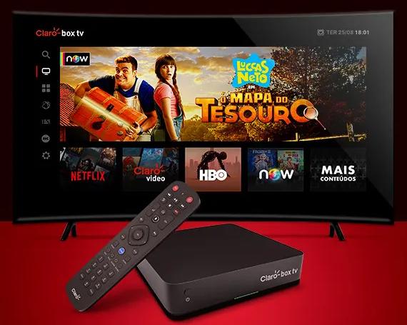 Claro Box TV interface