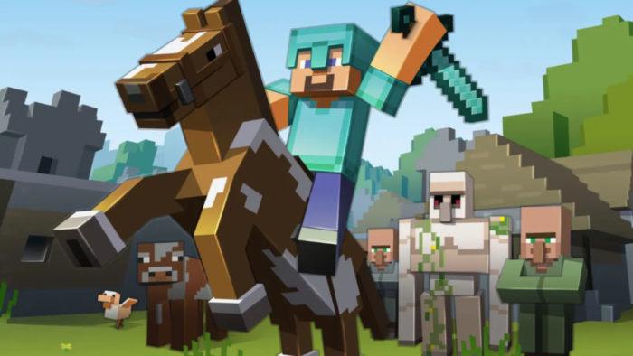 Minecraft (Imagem: Mojang/Microsoft Studios/Divulgação)