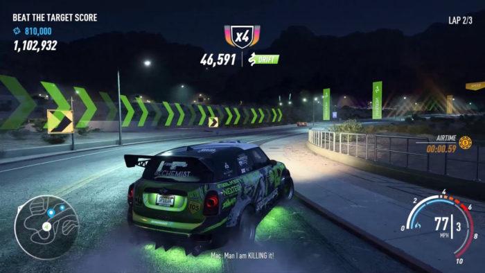 Drift em Need for Speed: Payback (Imagem: Ghost Games/Electronic Arts/Reprodução)