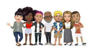 Facebook lança Avatares com figurinhas (stickers) no Brasil