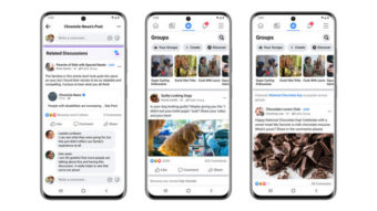 Facebook vai colocar posts de grupos públicos no seu feed
