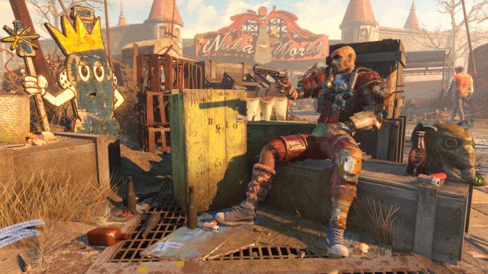 Fallout 4 é um dos jogos retrocompatíveis (Imagem: Bethesda)