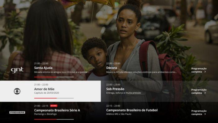 Globoplay + canais ao vivo. Foto: Divulgação/Globoplay