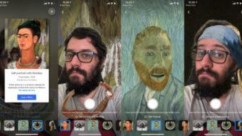 Google lança filtros de arte que transformam você em Van Gogh