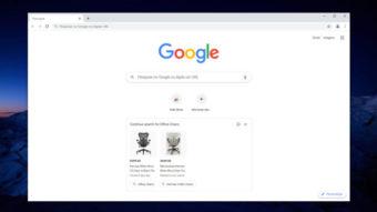 Chrome testa anúncios do Google Shopping na página de nova aba