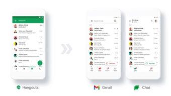 Google Chat ganha recurso para migrar usuários do Hangouts