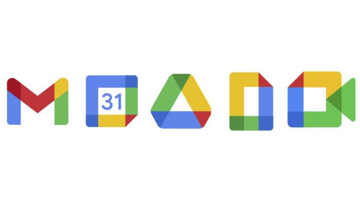 Gmail, Google Agenda, Docs, Drive e Meet ganham novos ícones (Imagem: Divulgação/Google)