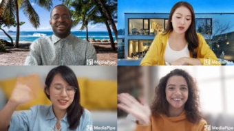 Google Meet permite trocar imagem de fundo na versão web