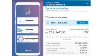 Caixa libera crédito de financiamento habitacional via app