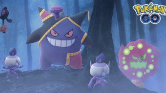 Pokémon Go anuncia bônus e aparições para o Halloween