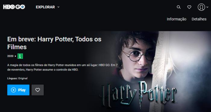 Harry Potter mudará de streaming no Brasil (Imagem: Reprodução/HBO)
