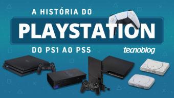 A história do PlayStation: do PS1 ao PS5