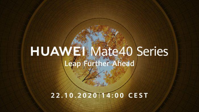 Linha Huawei Mate 40 será lançada em outubro de 2020 (Imagem: Divulgação/Huawei)