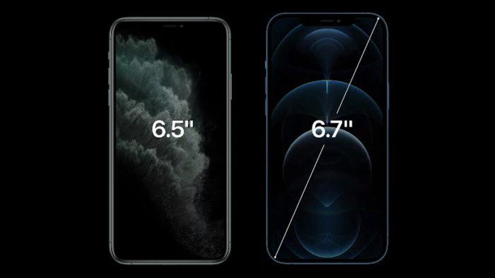 iPhone 11 Pro Max e 12 Pro Max (Imagem: Apple)