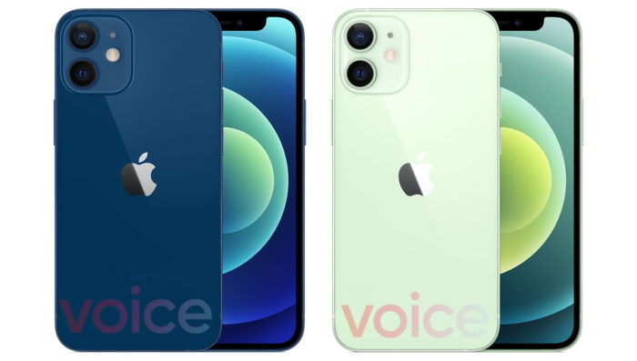 iPhone 12 Mini (Imagem: Evan Blass/Voice)
