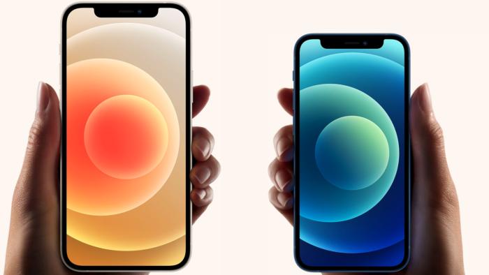 iPhone 12 e iPhone 12 Mini. Foto: Reprodução/Site Apple