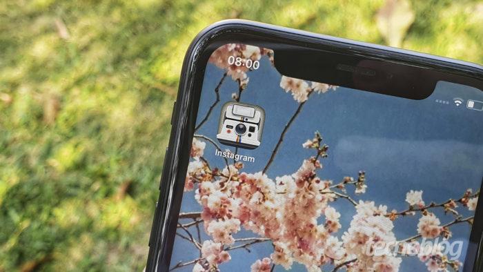 Instagram permite trocar ícone para celebrar 10 anos do app (Imagem: Bruno Gall De Blasi/Tecnoblog)