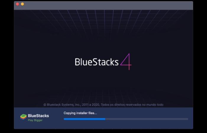 Emulador BlueStacks permite jogar Among Us de graça no PC (Imagem: Reprodução/BlueStacks)