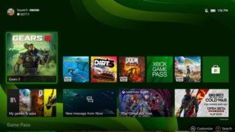 Vídeo do Xbox Series X detalha interface, Quick Resume e jogos