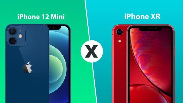 iPhone 12 Mini ou iPhone XR? (Imagem: Tecnoblog)