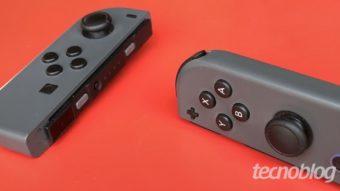 Joy-Cons do Nintendo Switch OLED têm menos drift, mas falha continua