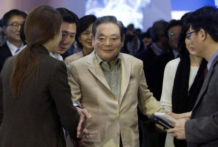 Lee Kun-hee (imagem: Reuters/Steve Marcus)