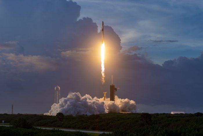 Lançamento da SpaceX em 6 de outubro de 2020