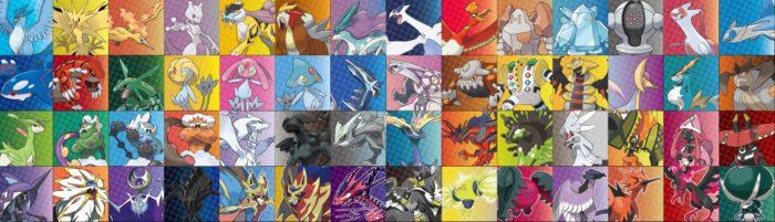 Lendários da franquia Pokémon Sword e Shield (Imagem: Divulgação/The Pokémon Company)
