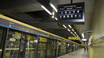 Wi-Fi grátis chega à linha 4-Amarela do metrô de São Paulo