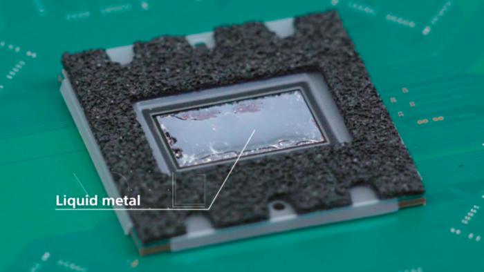 O que é Liquid Metal, usado no PlayStation 5? (Imagem: Sony)