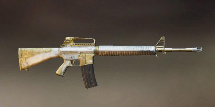 M16A4 (Imagem: PUBG Corporation/Divulgação)