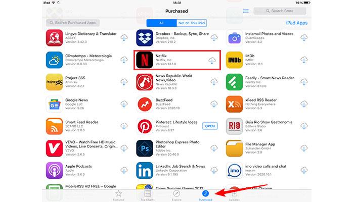"""Netflix: """"aplicativo não é compatível com seu iPad"""