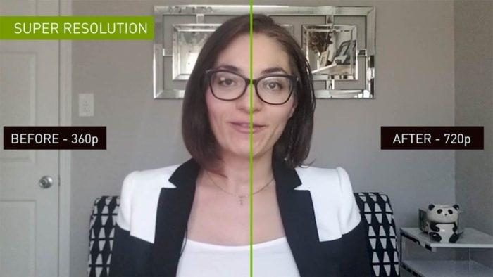 Nvidia Maxine - resolução