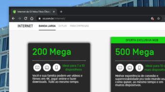 Oi Fibra lança internet banda larga com velocidade de 500 Mb/s
