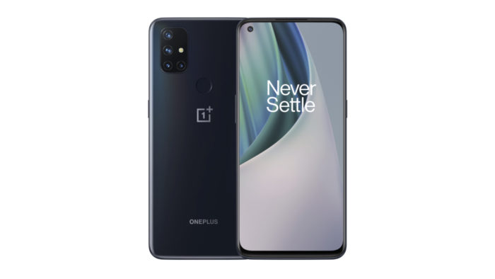 OnePlus N10 5G and N100: OnePlus Nord N10 5G (pictured) with intermediate data sheet with 5G (Image: Press release / OnePlus)