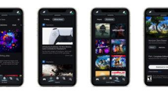 Sony atualiza PlayStation App com recursos do PS5, mensagens e mais