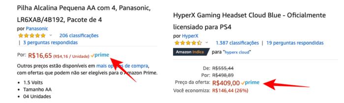 Selo Amazon Prime (Imagem: Reprodução/Amazon)
