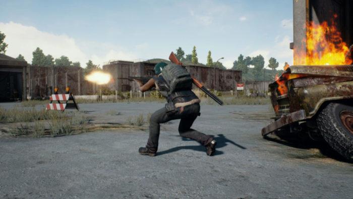 Combate em PUBG (Imagem: PUBG Corporation/Reprodução)