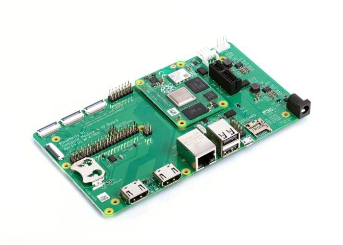 Compute Module IO Board (imagem: divulgação/Raspberry Pi)