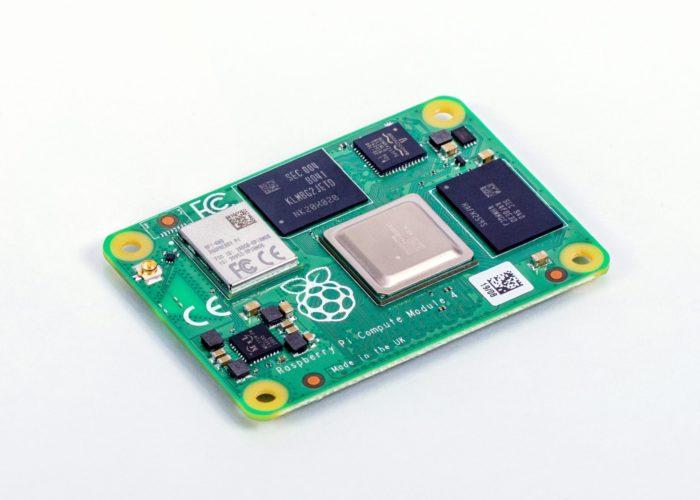 Raspberry Pi Compute Module 4 (imagem: divulgação/Raspberry Pi)
