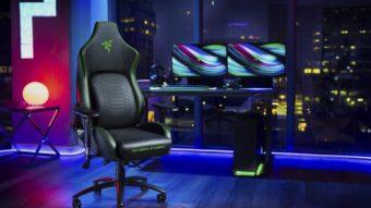 Razer lança cadeira gamer que promete melhorar sua postura