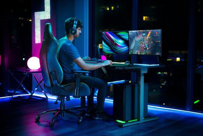 Cadeira gamer da Razer tem apoio personalizável para a lombar (Imagem: divulgação)