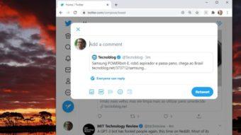Twitter priorizará retweet com comentário em teste no Brasil