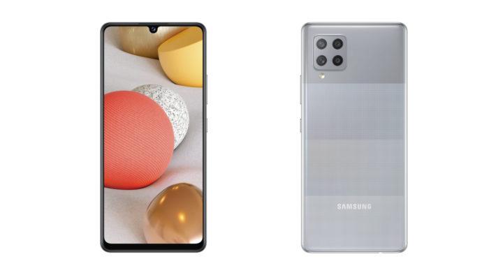 Samsung Galaxy A42 5G (Imagem: Divulgação/Samsung)