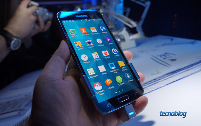 Samsung Galaxy S5 (Imagem: Tecnoblog)