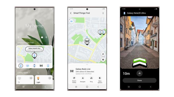 SmartThings Find permite localizar um celular mesmo offline (Imagem: Divulgação/Samsung)