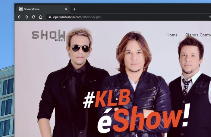 Site da Show Mobile