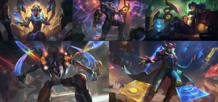 Skins de League of Legends (Imagem: Divulgação/Riot Games)