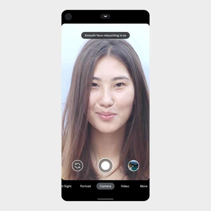 smartphone alerta usuário google que esta com filtro